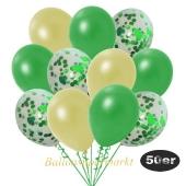 luftballons-50er-pack-15-gruen-konfetti-und-18-metallic-pastellgelb-17-metallic-gruen