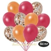 luftballons-50er-pack-15-orange-konfetti-und-18-metallic-rot-17-metallic-orange