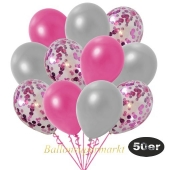 luftballons-50er-pack-15-pink-konfetti-und-18-metallic-silber-17-metallic-pink
