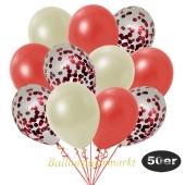 luftballons-50er-pack-15-rot-konfetti-und-18-metallic-warmrot-17-metallic-elfenbein