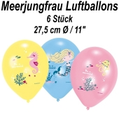 Luftballons aus Latex Be a Mermaid