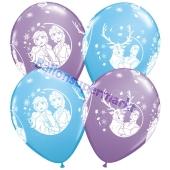 Luftballons aus Latex Eiskönigin 2