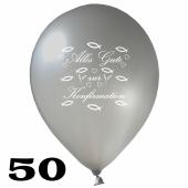 Luftballons Alles Gute zur Konfirmation, 50 Stück, 30 cm Latexballons