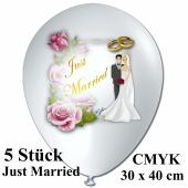 Luftballons-Just-Married-Hochzeitspaar-CMYK-5-Stueck