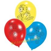 Luftballons aus Latex Paw Patrol