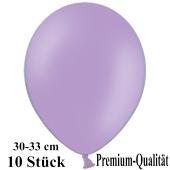 Premium Luftballons aus Latex, 30 cm - 33 cm, lila, 10 Stück