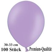 Premium Luftballons aus Latex, 30 cm - 33 cm, lila, 100 Stück