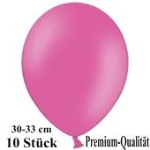 Premium Luftballons aus Latex, 30 cm - 33 cm, pink, 10 Stück