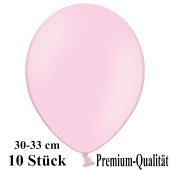 Premium Luftballons aus Latex, 30 cm - 33 cm, rosa, 10 Stück
