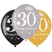 Sparkling Celebration 30, Luftballons zum 30. Geburtstag