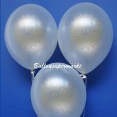 Luftballons zu Konfirmation und Kommunion, IHS, 25 Stück