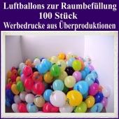 Luftballons zur Raumbefüllung, 100 Stück