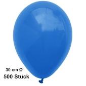 Luftballon Blau, Pastell, gute Qualität, 500 Stück