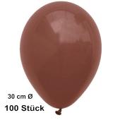 Luftballons 28-30 cm, Braun, preiswert und günstig