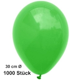 Luftballon Grün, Pastell, gute Qualität, 1000 Stück