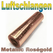 Luftschlangen Metallic Rosegold