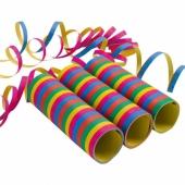 9 Rollen Luftschlangen zum Kindergeburtstag