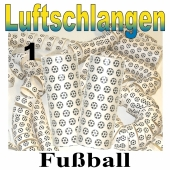 Fußball Luftschlangen, Jumbo, 1 Rolle