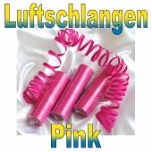 Luftschlangen Pink