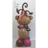 Ballonfigur lustiges Äffchen