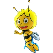 Großer Biene Maja Luftballon mit Ballongas. Maja die Honigbiene