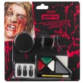 Horror Zombie, Schmink-Set zu Halloween