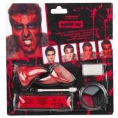Teufel, Schmink-Set zu Halloween