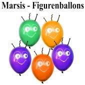 Marsi Figurenballons, Luftballons aus Latex, Ballons zur Ballondekoration
