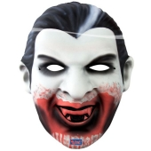 Vampir, XXL Maske zu Halloween