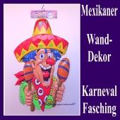 Mexikaner, Wanddekoration und Bühnendekoration zu Karneval und Fasching