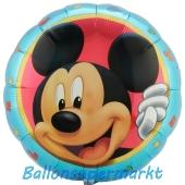 Micky Maus Portrait Luftballon aus Folie inklusive Helium