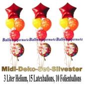 Midi-Deko-Set-Silvester-Ballons-Einweg-Helium-Happy-New-Year