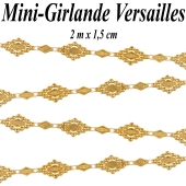 Mini-Girlande Versailles, gold