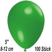 Luftballons 12 cm, Grün, 100 Stück