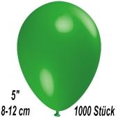 Luftballons 12 cm, Grün, 1000 Stück