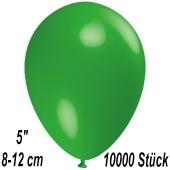 Luftballons 12 cm, Grün, 10000 Stück