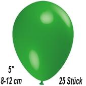 Luftballons 12 cm, Grün, 25 Stück