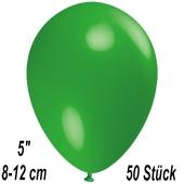 Luftballons 12 cm, Grün, 50 Stück