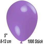 Luftballons 12 cm, Lavendel, 1000 Stück