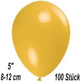 Luftballons 12 cm, Maisgelb, 100 Stück