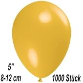 Luftballons 12 cm, Maisgelb, 1000 Stück