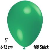Luftballons 12 cm, Mintgrün, 100 Stück