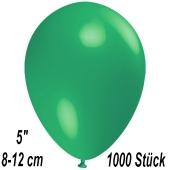 Luftballons 12 cm, Mintgrün, 1000 Stück