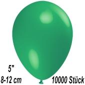 Luftballons 12 cm, Mintgrün, 10000 Stück