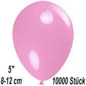 Luftballons 12 cm, Rosa, 10000 Stück
