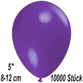 Luftballons 12 cm, Violett, 10000 Stück