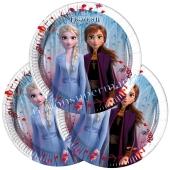 Frozen 2 Mini-Partyteller, 8 Stück