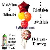 Mini-Set-Silvester-Ballons-Einweg-Helium