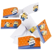Minions Einladungskarten zum Kindergeburtstag