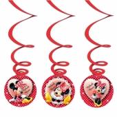 Minnie Maus Swirl Dekoration zum Kindergeburtstag
